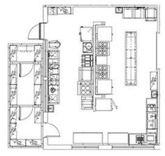 restaurant kitchen layout dimensions. Incubator Kitchen Restaurant Layout Dimensions