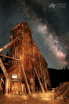 Yankee Girl Mine and Milky Way, Colorado