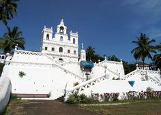 Churches and Convents of Goa are one of the most popular tourist attractions in Goa. Explore the Churches and Convents of Goa with Bhavya Holidays. Immaculate Conception Church, Church Of Our Lady, States Of India, Goa India, India Travel, Natural Wonders, World Heritage Sites, Adventure Travel, Tourism