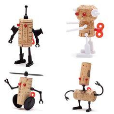 Corkers Robots set-4 pck