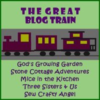 Sew Crafty Angel: The Great Blog Train