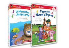 Baby Genius DVD's and CD's