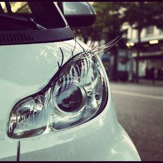 Aw I wanna girly up our car like this!
