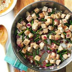 Day-After-Thanksgiving Turkey Stir-Fry Recipe- Recipes  I work for a priest, Fr. Leo, who loves to cook and shared this recipe with me. Perfect for the day after Thanksgiving, the dish encompasses the holiday spirit, while adding a twist.