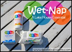 Wet-Nap: A Lake House Essential