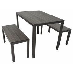 Looking for Zenvida Dining Set Table Two Benches Modern Style, Seats 4 ? Check out our picks for the Zenvida Dining Set Table Two Benches Modern Style, Seats 4 from the popular stores - all in one. Solid Wood Dining Set, 3 Piece Dining Set, Dining Room Sets, Table Seating, Dining Table, Kitchen Dining, Cnc, Breakfast Nook Dining Set, Breakfast Nooks