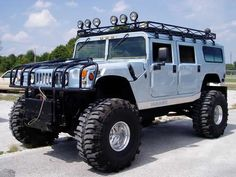 Hummer.... I've always wanted one of these!!! My husband won't let me have one.. For one reason....