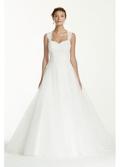 Tulle Wedding Dress with Illusion Back Detail  WG3671