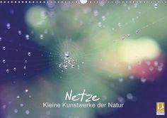 Netze: kleine Kunstwerke der Natur - CALVENDO Kalender von Benita Zabel - #kalender #calvendo #calvendogold #spinnen #spinnennetze #fotografie