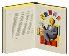 Kurt Tucholsky, eyes in the big city: Hans Ticha has imaged Tucholsky poetry and prose with flat prints.