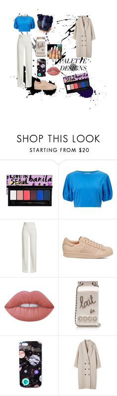 """""""Class and Cas"""" by ianaragbar ❤ liked on Polyvore featuring Miss Selfridge, Brandon Maxwell, adidas, Lime Crime, Chanel and Nikki Strange"""