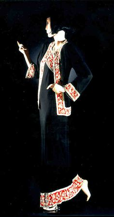 Couturier Schiaparelli, attrib  Type Even. dress/ball gown/ensemble  Country France  Date 1932c