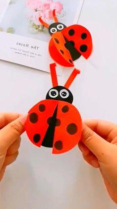 Hand Crafts For Kids, Animal Crafts For Kids, Craft Activities For Kids, Toddler Crafts, Preschool Crafts, Paper Crafts Origami, Paper Crafts For Kids, Fun Crafts, Diy Paper