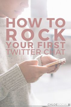 How to Rock Your First Twitter Chat