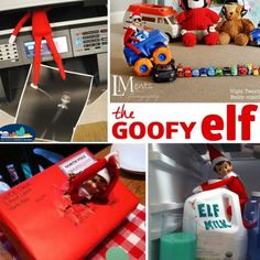 pranks from your elf in the shelf