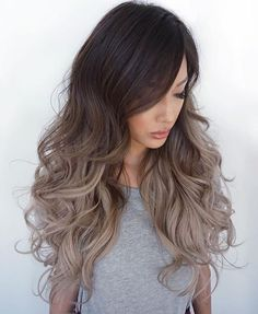 Friday Fave: Perfect Curls + Prefect Ombré! @evalam_ #haircrush #instahair #pretty #hairenvy #beautiful #instalove #love #perm #ombre #balayage #zalonku