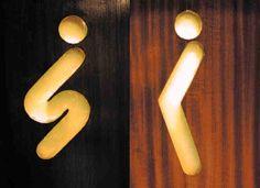 25 placas de banheiro criativas e engraçadas