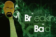 Breaking Bad TV series Walter White (to get full size image visit the site)