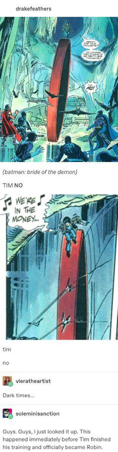 Marvel Vs, Marvel Dc Comics, Tim Drake Red Robin, Bat Boys, Dc Memes, Superbat, Im Batman, Batman Family, Dc Characters