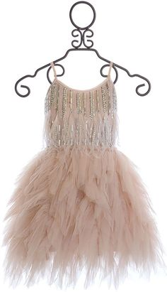Tutu Du Monde Girls Designer Dress Blush - I am IN LOVE with this dress but it's just so not in my budget Cute Girl Outfits, Little Girl Dresses, Kids Outfits, Flower Girl Dresses, Girls Fashion Clothes, Kids Fashion, Fashion Dresses, Kids Clothing, Fashion Hats
