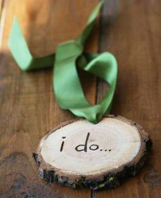 I do  Tree Ring Gift Tag / Rustic Western Country by LittleWeeShop, $9.99