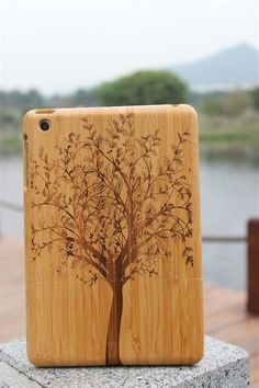 Wood case for iPad mini #wood ipad mini case