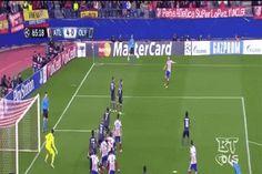 Jornada 5 : UEFA Champions League | 25 – 26 noviembre 2014 | Atlético Madrid vs Olympiacos (4-0)