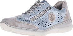 Rieker Women's L3215 Nikita 15 Steel/Royal Sneaker 37 (US... https://www.amazon.com/dp/B01785E05U/ref=cm_sw_r_pi_dp_x_nhRrybJGR49X3