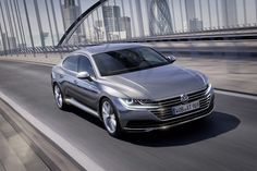 """VW Arteon is a full-size vehicle belonging to the Gran Turismo segment, the successor to the four-door coupe CC, which name is conjured of """"Art"""" and """"eon"""" Volkswagen Jetta, Volkswagen Models, Vw Passat, Volkswagen Golf, Volvo Xc60, Audi A5, Motor Vr6, Ducati, Motor A Diesel"""