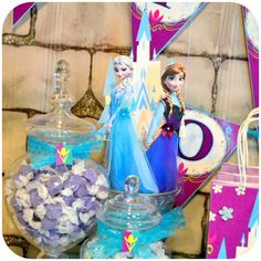FROZEN Party Center Pieces - Coronation Day Printable  Match Party Stores Supplies and Decorations    Three Easy Steps!  1) Purchase!  2) Print!