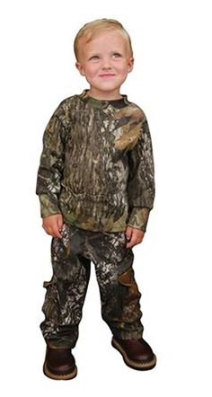 Camping Hiking Gear and Outfit :Bonnie and Childrens Toddler 6 Pocket Pant Mossyoak Breakup 3t ** Don't get left behind, see this great product : Camping Hiking Gear and Outfit