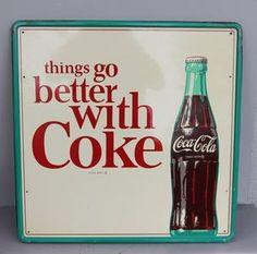 Coca Cola in a glass bottle!