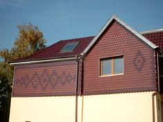Biberschwanzfassade mit Mustern von der Engelhardt Dach & Wand GmbH in Heilbad Heiligenstadt (37308) | Dachdecker.com