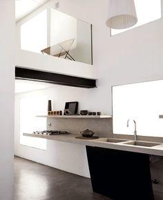 Modern kitchen w classic design Minimalist Modern Kitchens, Minimal Kitchen, Modern Kitchen Design, Interior Design Kitchen, Home Design, Interior Decorating, Minimalistic Kitchen, Kitchen Designs, Kitchen Dinning