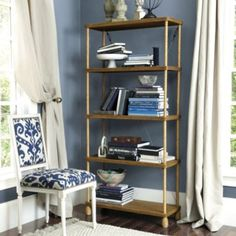 Pascal Rope Bookcase $599