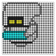 Mo Wall-E perler bead pattern