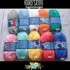 benangrajutjakarta:: Ready Stock!! Nako Saten 100% Premium Micro Acrylic 100 gr 230 mtr Knitting needle : 4.5 5 mm Crochet Hook : 5mm Rp. 65.000  #benangimpor #benangrajut #benangrajutimport #rajutan #rajutanku #merajut #marimerajut #crochet #knitting #amigurumi#yarnaddict #yarnlover #jualbenangrajut #tokobenangrajut #yarnsale #crochetindonesia #benang #rajut #benangrajutjakarta #benangrajutindonesia #jualan #benangrajutonline #rajutanbayi #benangalize #benangnako #benangturki #BRJReady