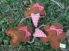 Gingerbread Garland (felt)