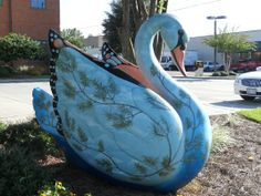 FESTIVAL OF SWANS in Hattiesburg. (Most are on the grounds of the Hattiesburg Zoo.) | Yelp