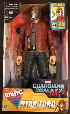 Marvel Guardians Of The Galaxy Vol 2 STAR-LORD Music Mix  | eBay