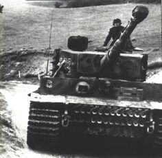Tiger 223 of Schwere SS-Panzer Abteilung 101 moving up in France