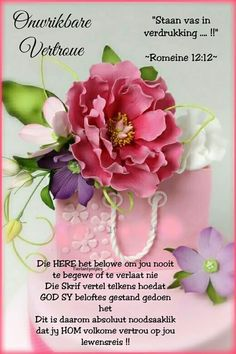 Birthday Prayer, Birthday Wishes, Goeie More, Afrikaans Quotes, Inspirational Qoutes, Prayers, Faith, Bible, Gallery