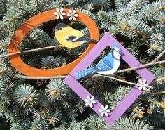 Stockade's Blog: Free Project Plan - Framed Spring Birds
