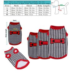 eaad62aa9482c5 2017 Small Dog T-shirt Puppy Clothes for Boys Girls Houndstooth Bone Vest  Shirt