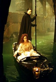 Phantom of the Opera. My favorite movie about a stalker and an opera singer.