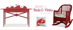Red & Pink | Shop By Color | Maine Cottage #mainecottage
