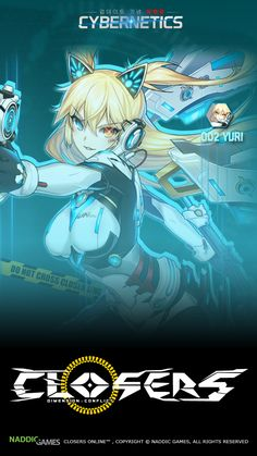 002 Yuri Cybernetics Phone Wallpaper [B] Resolution 720 x 1280