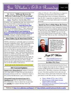 eb5-newsletter-august-2012 by BigJoe5 via Slideshare