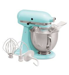 KitchenAid® Artisan® Series 5-Quart Tilt-Head Stand Mixer (KSM150PSCL Crystal Blue) |
