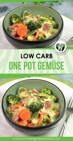 One-Pot-Gemüse mit grober Mettwurst - Best Image Portal Quick Easy Meals, Healthy Dinner Recipes, Vegetarian Recipes, Keto Recipes, Easy Dinners, Pasta Recipes, Dessert Recipes, Smoothie Recipes, Food Inspiration